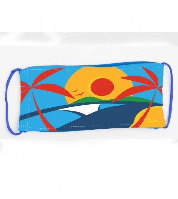 MÁSCARA DE PROTEÇÃO BEACH DAY BY TOM VEIGA
