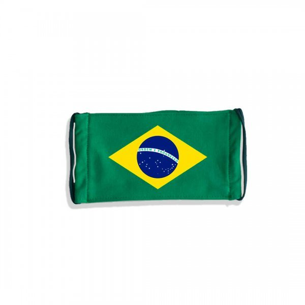 MÁSCARA DE PROTEÇÃO - BRASIL BY DESMASCARE