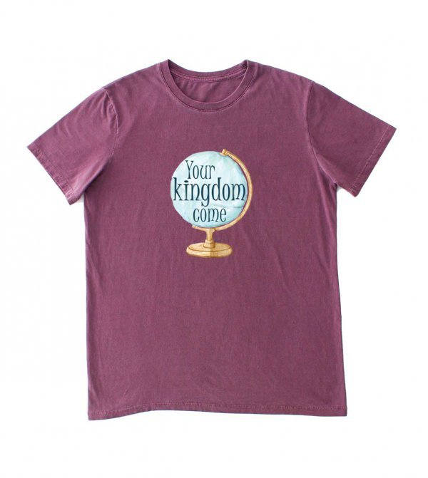 CAMISETA CRISTÃ - YOUR KINGDOM DÉBORA KOENIG