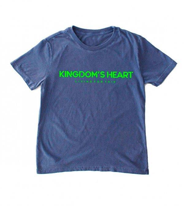 CAMISETA INFANTIL - KINGDOM'S HEART