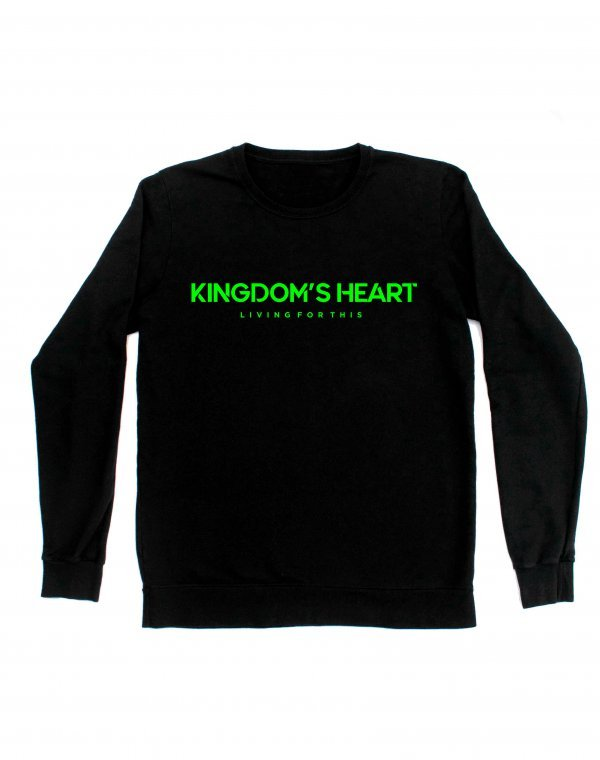 MOLETOM - LIVING FOR THIS  BY KINGDOM'S HEART