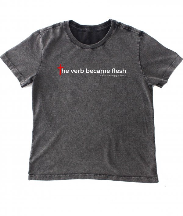 CAMISETA INFANTIL - THE VERB BY THE MISSION