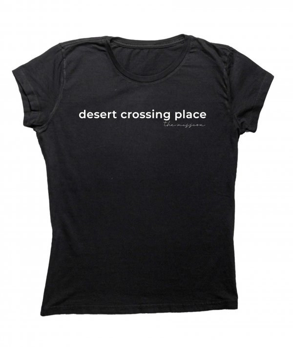 CAMISETA BABYLOOK - DESERT BY THE MISSION