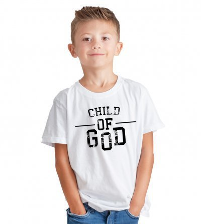 CAMISETA INFANTIL - CHILD OF GOD BY YOU LABEL