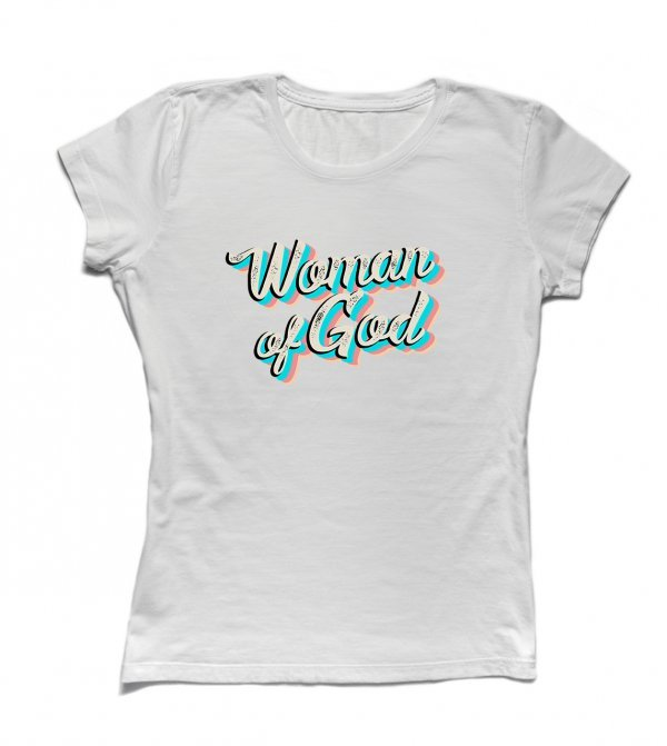 CAMISETA BABYLOOK - WOMAN OF GOD BY YOU LABEL
