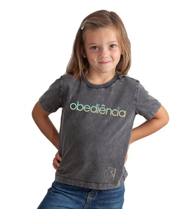 T-Shirt Infantil  - Obediência
