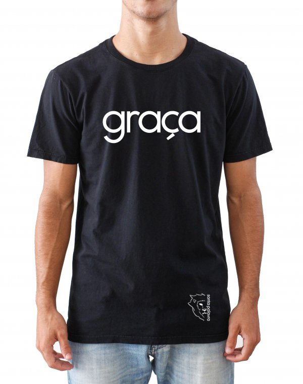 T-SHIRT REGULAR - GRAÇA