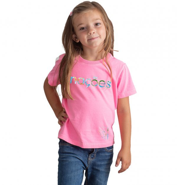 Camiseta Infantil - Nações