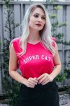 BLUSA MUSCLE TEE SUPER CAT