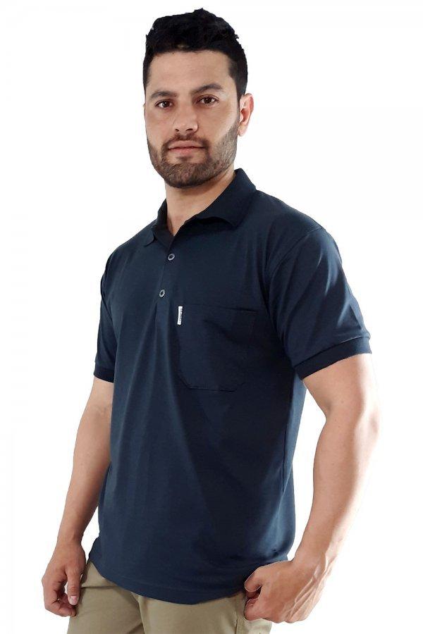Camisa Polo Conforto Com Bolso