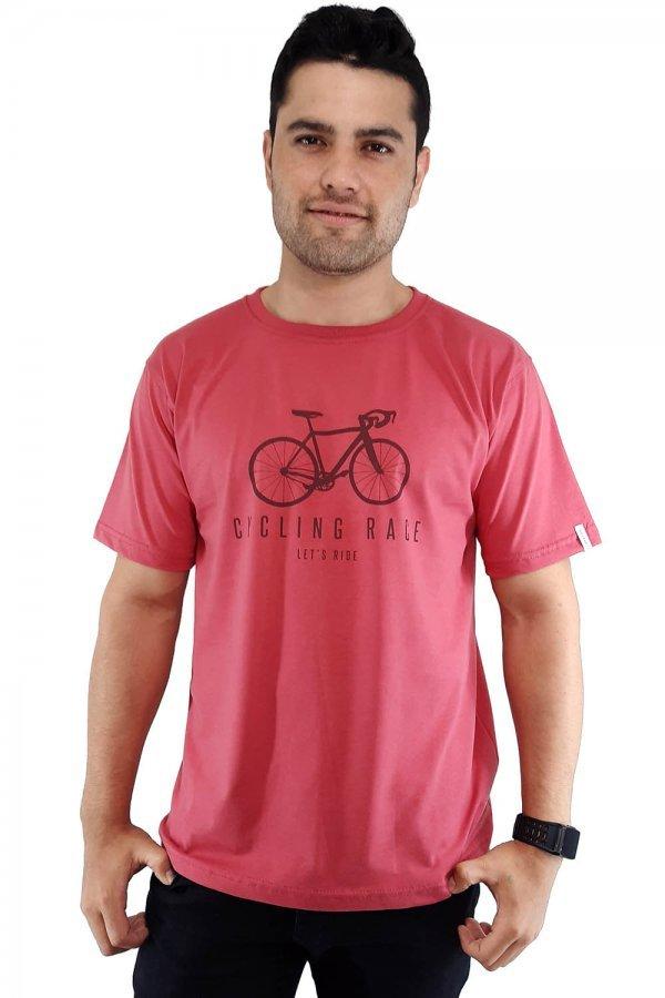 Camiseta tradicional estampada