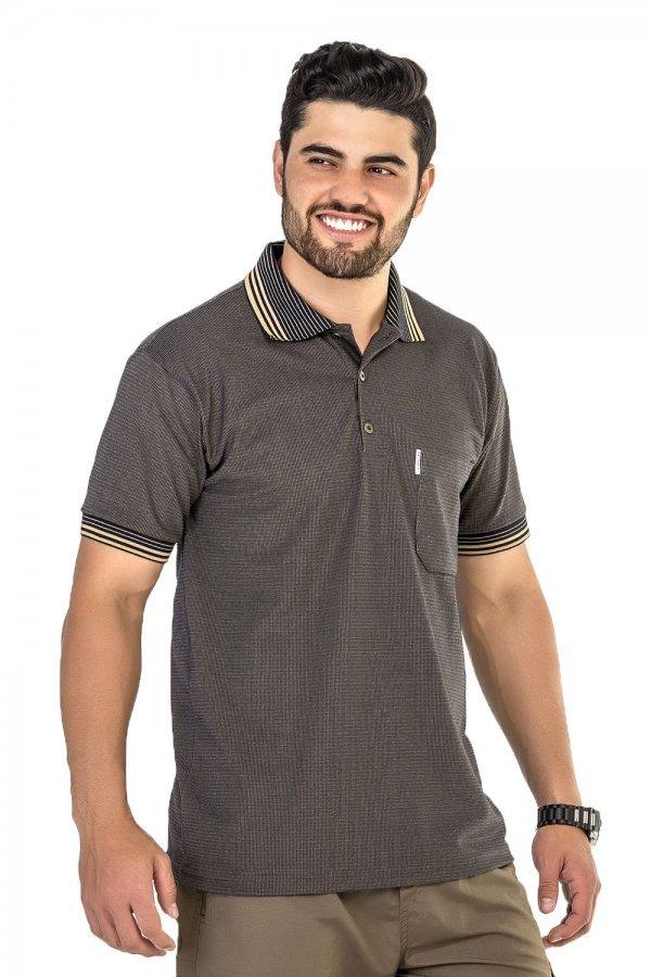 Camisa Polo Piquet Trabalhada