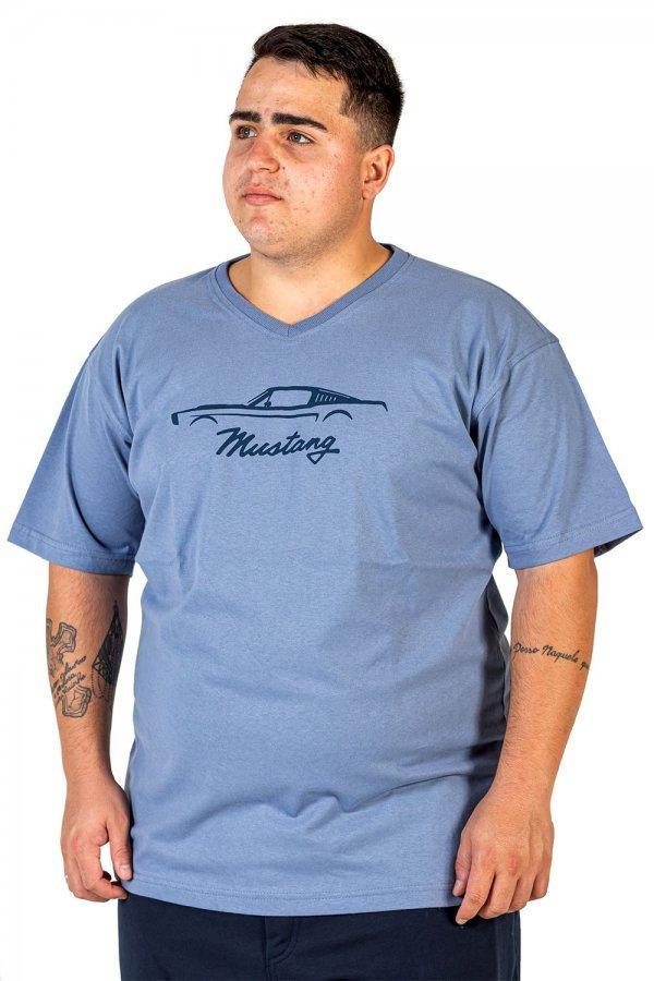 Camiseta V Sund Wash Plus Size
