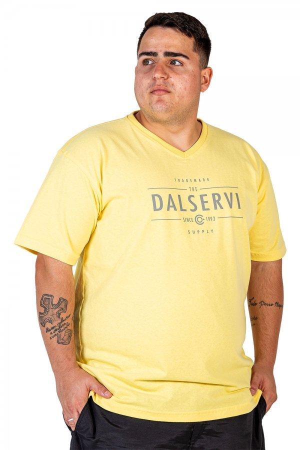 Camiseta V Sund Wash Plus Size +