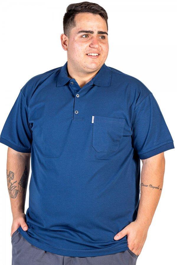 Camisa Polo Conforto Plus Size +