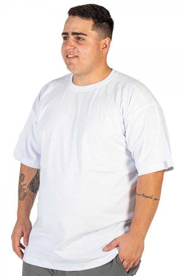Camiseta Tradicional Lisa Plus Size +
