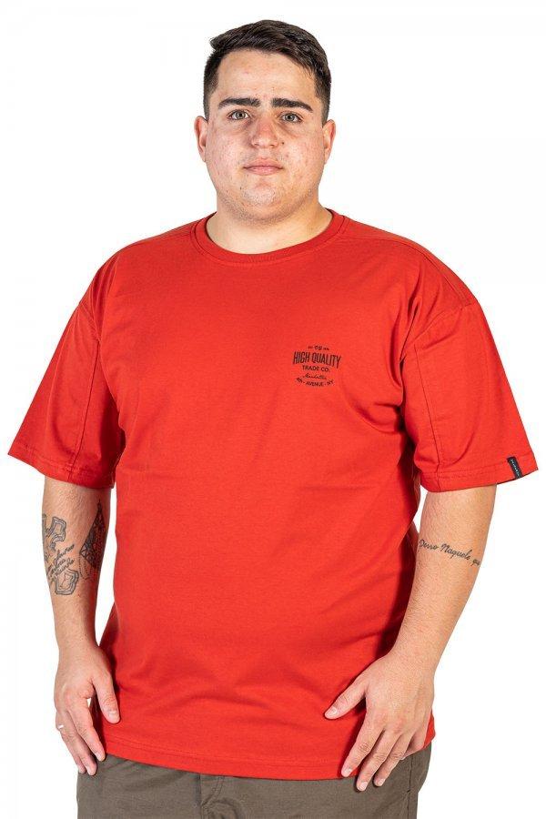 Camiseta com estampa lateral Plus Size +