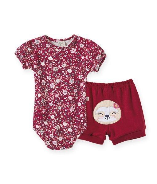 Conjunto Bebê Feminino Body + Short