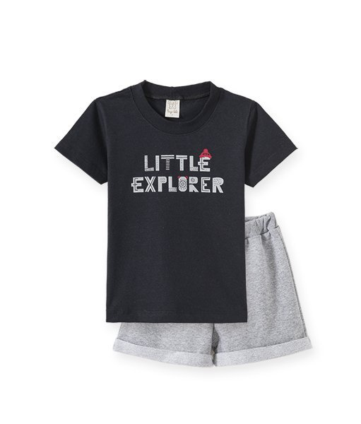 Conjunto Infantil Masculino Camiseta + Short