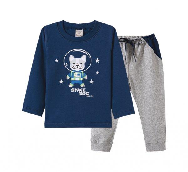 Conjunto Infantil Masculino Camiseta + Calça