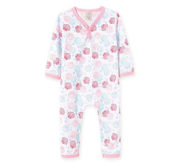 Pijama Bebê Feminino Macacão