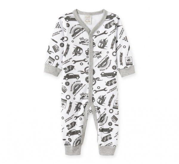 Pijama Bebê Masculino Macacão