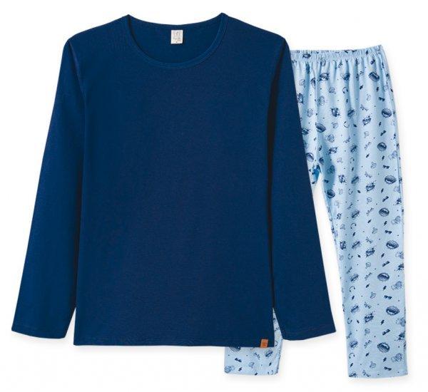 Pijama Adulto Masculino Camisa + Calça