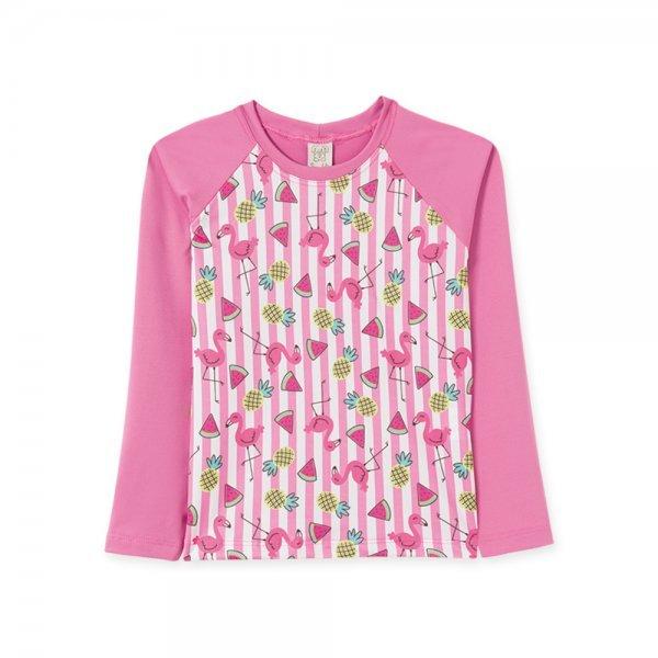 Camiseta Infantil Feminina UV50+
