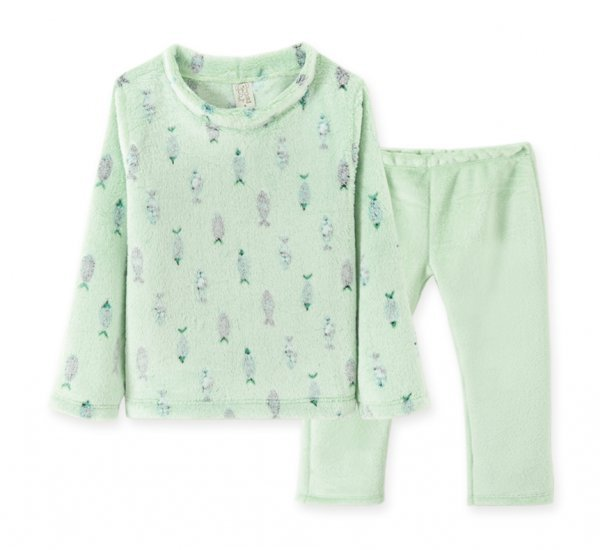 Pijama Infantil Fleece