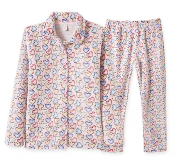 Pijama Adulto Feminino Fleece
