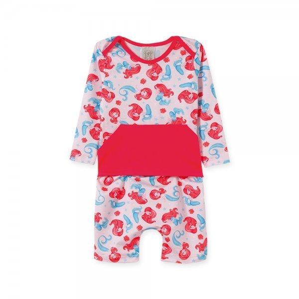 Macacão Bebê Feminino UV50+