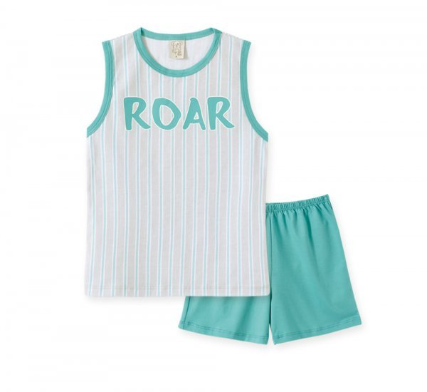 Pijama Infantil Masculino Regata + Short