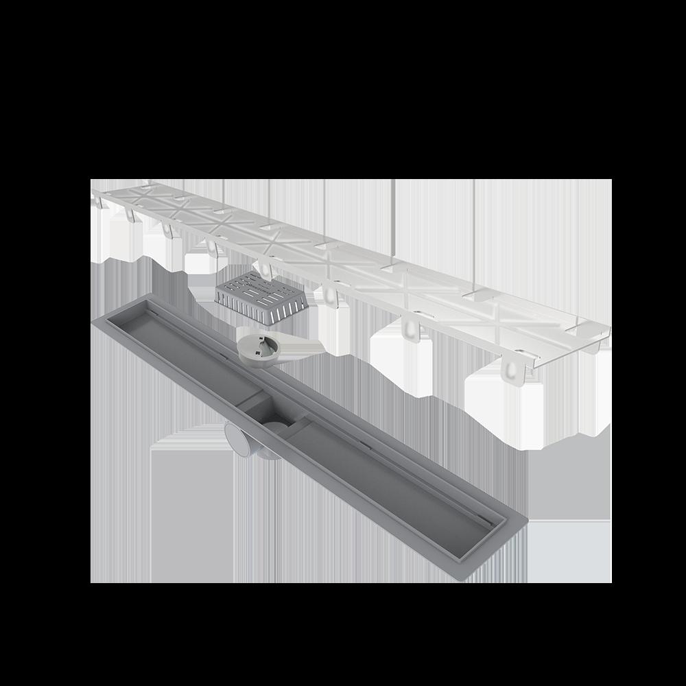 Ralo Linear Oculto 70 cm s/ sifão Smart