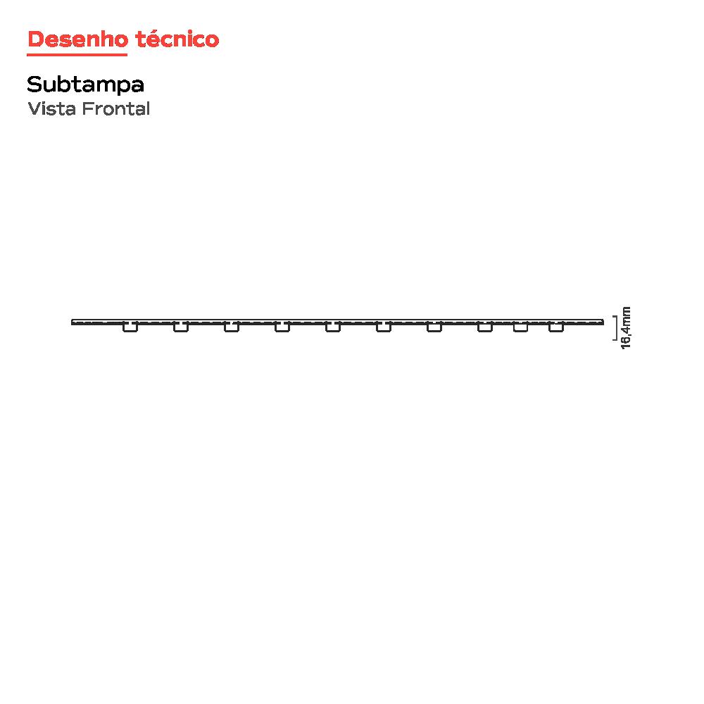 Ralo Linear Oculto 50 cm Versatile