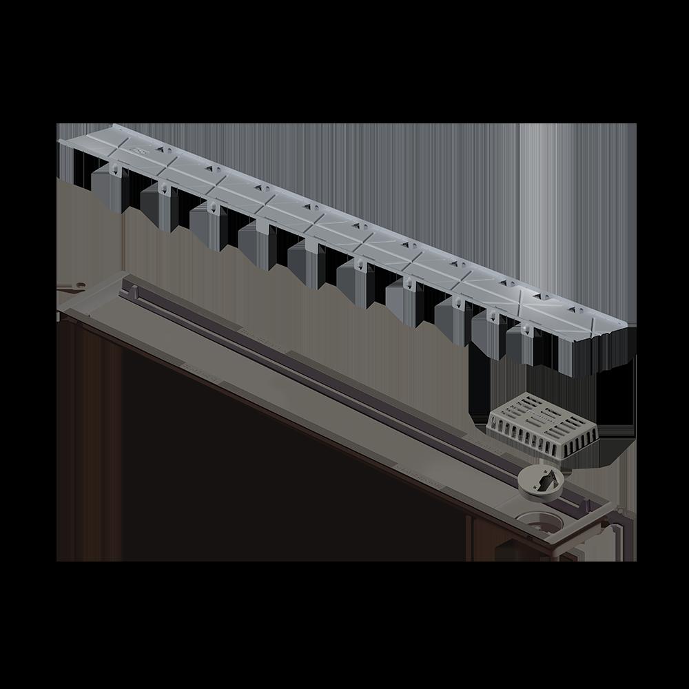 Ralo Linear Versatile Oculto 75 cm