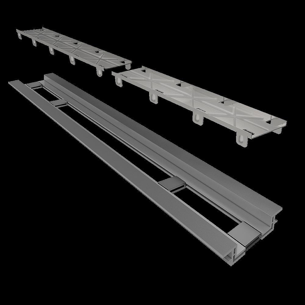 Ralo Linear  Oculto 130 cm Base PVC Infinity
