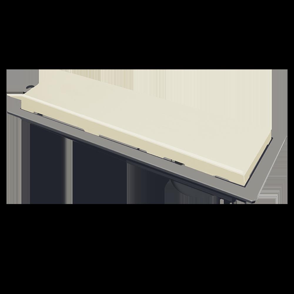 Ralo Linear 25 cm Bege