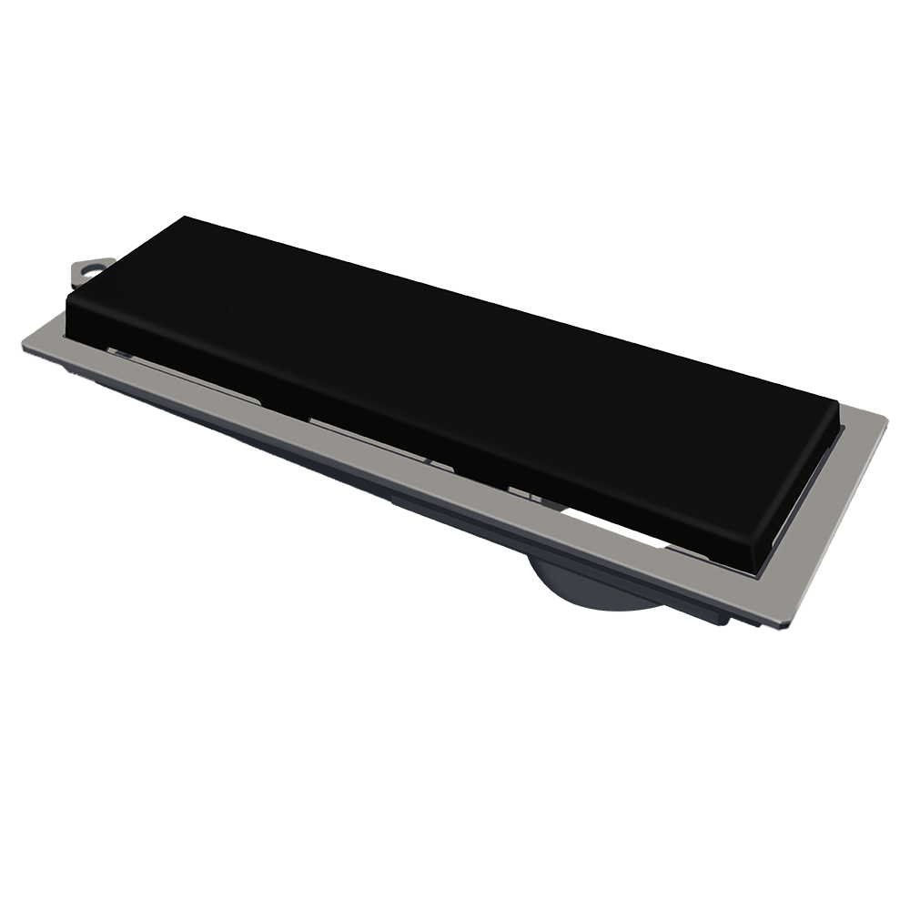 Ralo Linear 25 cm Preto