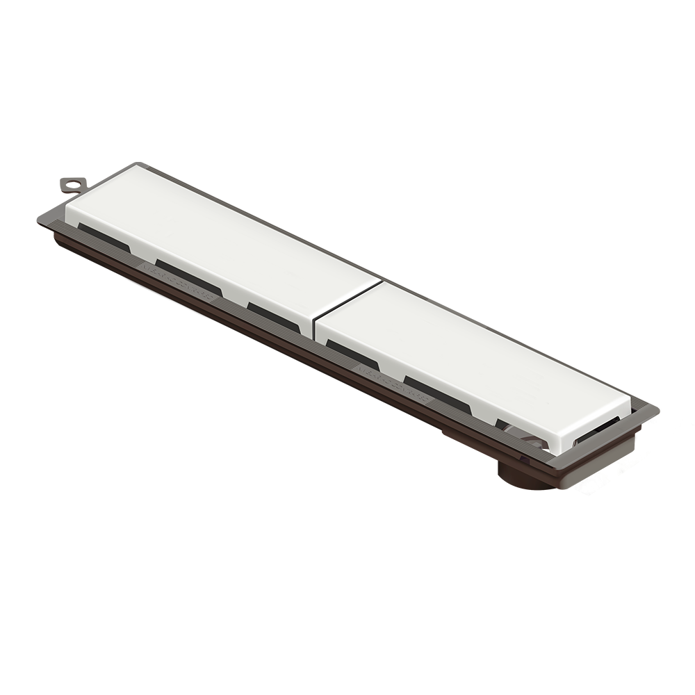 Ralo Linear Novii 50 cm sem sifão Branco