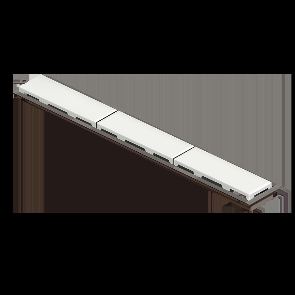 Ralo Linear Novii 75 cm sem Sifão Branco