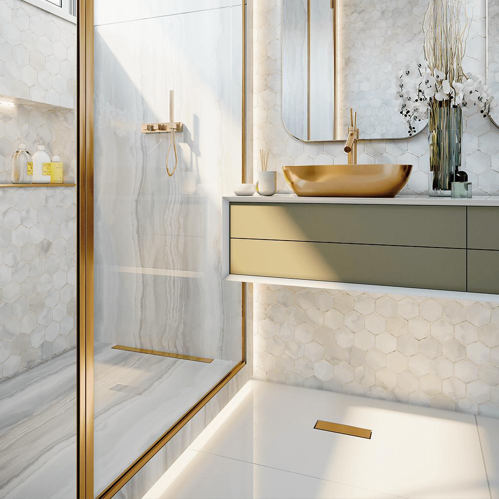 Ralo Linear Versatile Gold 75 cm