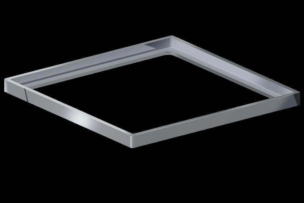 Porta Grelha Quadrada Polido 15 cm x 15 cm