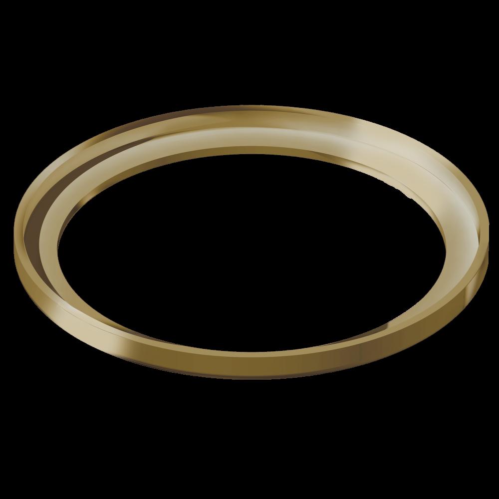 Porta Grelha Redonda Gold 10 cm x 10 cm