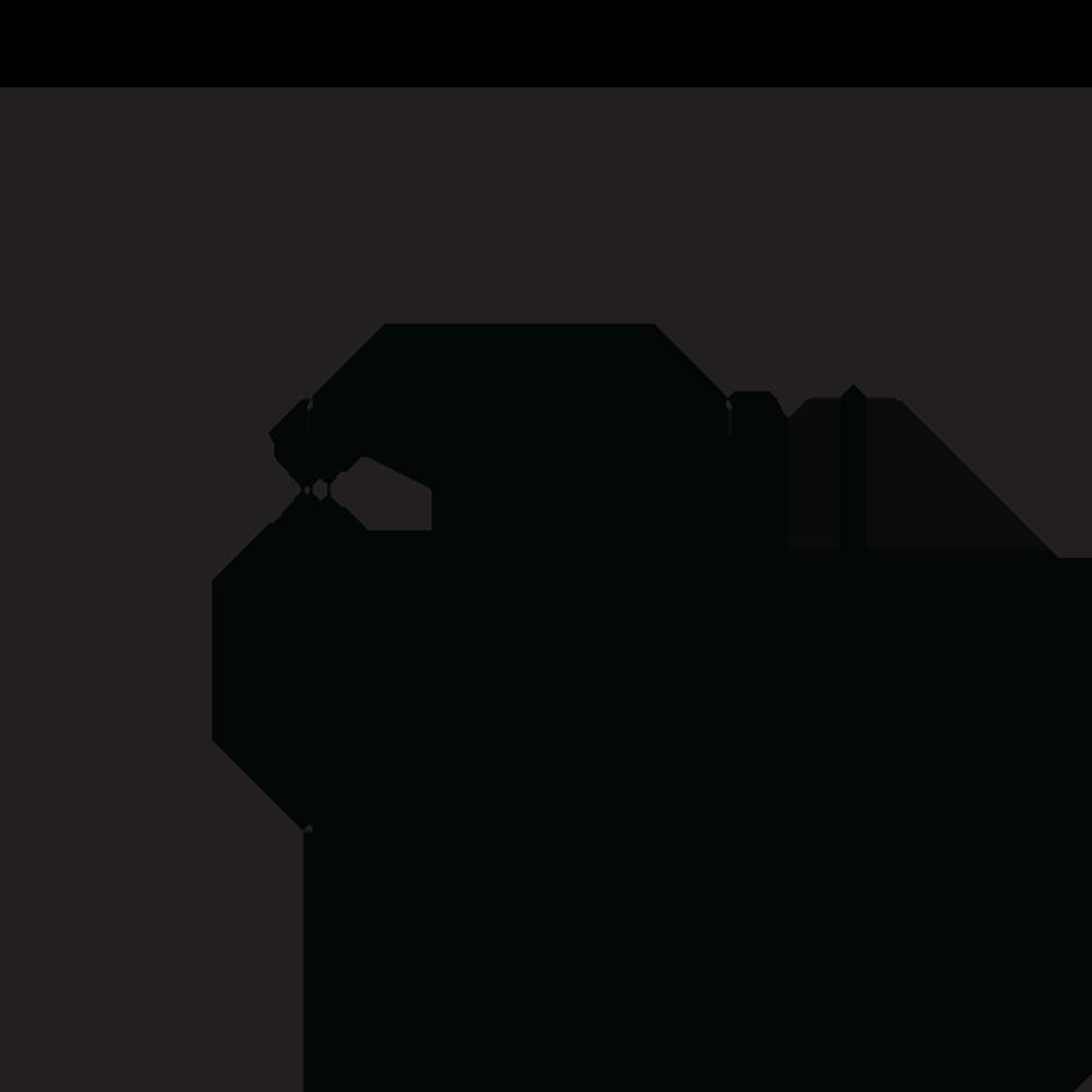 Porta Grelha Quadrada Grafite 10 cm x 10 cm