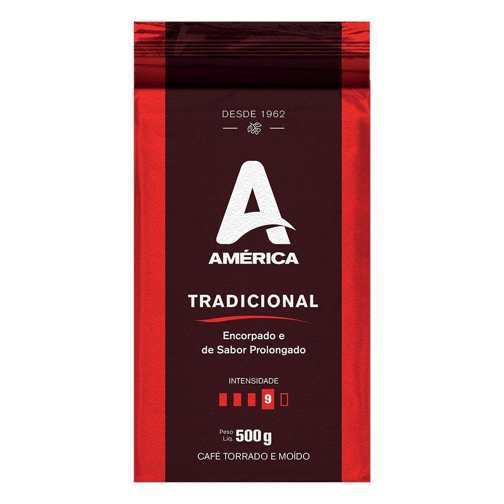 CAFÉ TORRADO E MOÍDO VÁCUO  AMÉRICA TRADICIONAL 500G