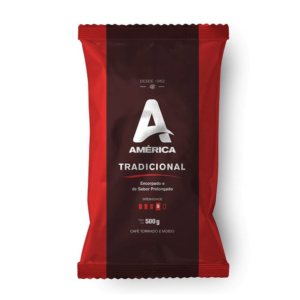 Café Torrado E Moído Almofada América Tradicional 500g