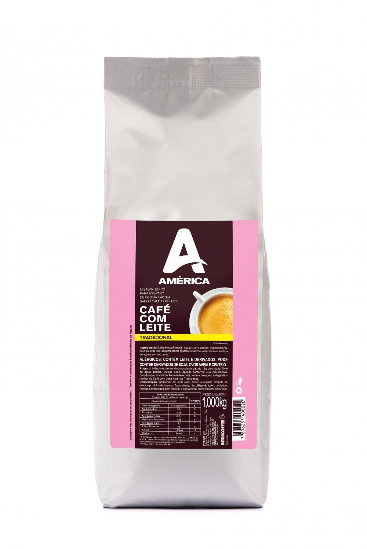 CAFÉ COM LEITE AMÉRICA 1KG