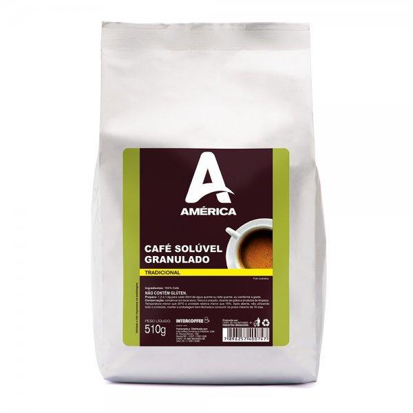 CAFE SOLÚVEL GRANULADO AMÉRICA 510G