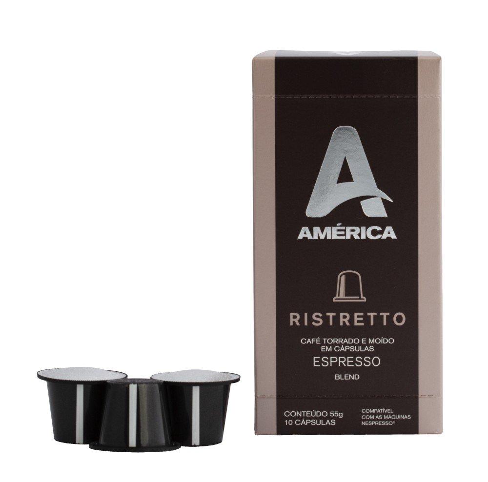 KIT 30 CÁPSULAS DE CAFÉ AMÉRICA RISTRETTO