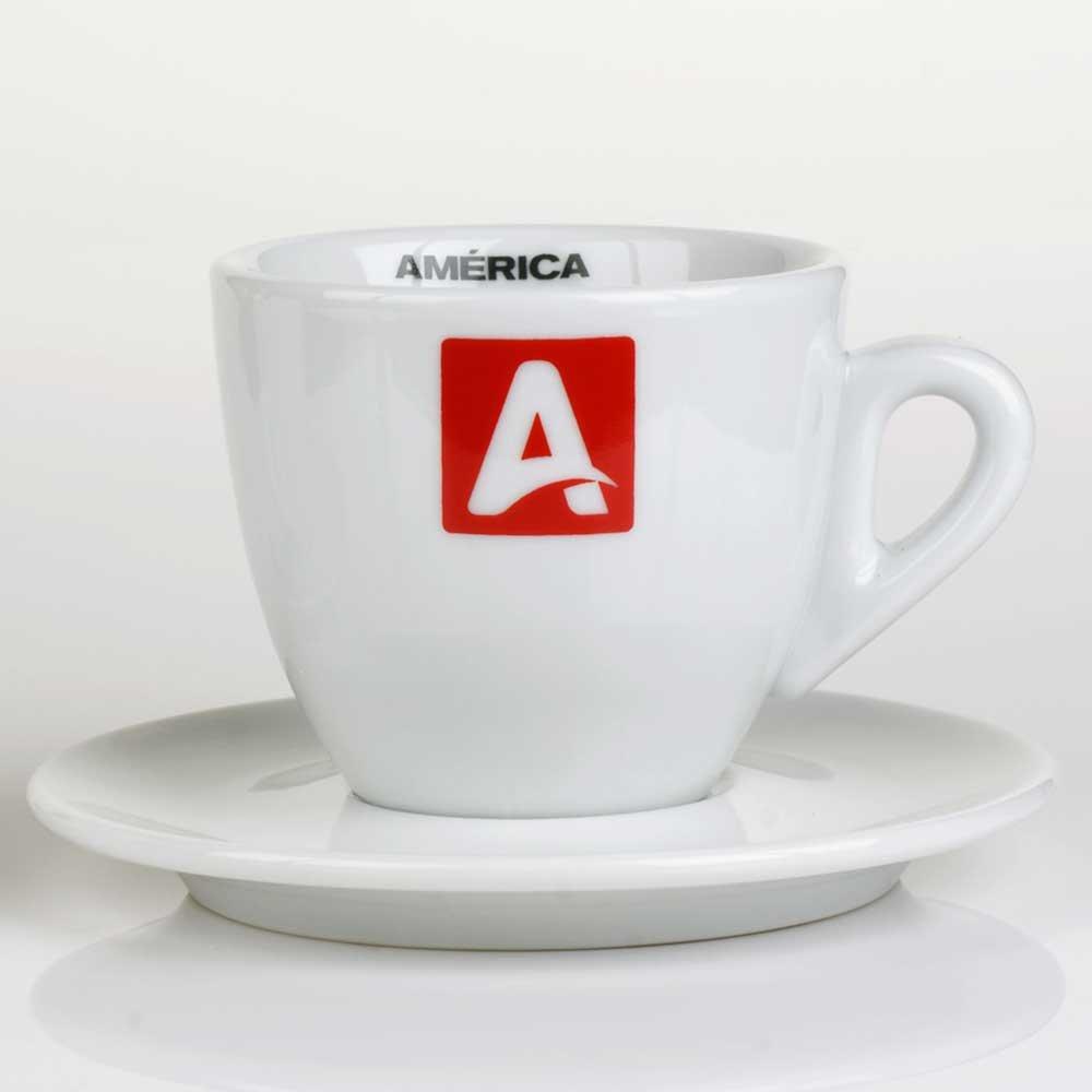 JOGO DE 6 XÍCARA E PIRES PARA CAFÉ - 200ML